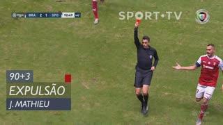 Sporting CP, Expulsão, J. Mathieu aos 90'+3'