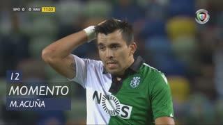 Sporting CP, Jogada, M. Acuña aos 12'