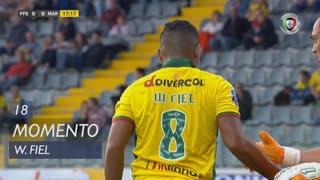 FC P.Ferreira, Jogada, W. Fiel aos 18'