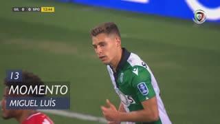 Sporting CP, Jogada, Miguel Luís aos 13'