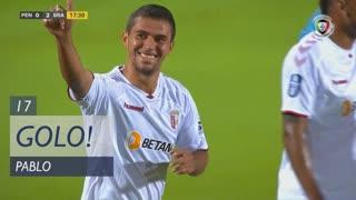 GOLO! SC Braga, Pablo aos 17', FC Penafiel 0-2 SC Braga