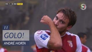GOLO! SC Braga, André Horta aos 11', SC Braga 1-0 Marítimo M.