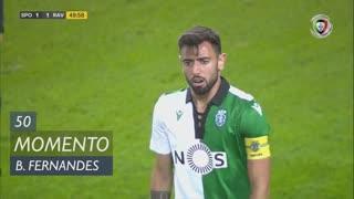 Sporting CP, Jogada, Bruno Fernandes aos 50'