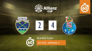 Taça da Liga (Fase 3 - Jornada 3): Resumo Flash GD Chaves 2-4 FC Porto