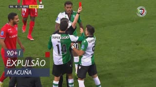 Sporting CP, Expulsão, M. Acuña aos 90'+1'