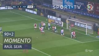 SC Braga, Jogada, Raúl Silva aos 90'+2'