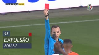 Sporting CP, Expulsão, Bolasie aos 45'