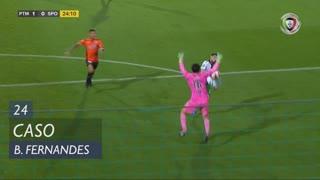Sporting CP, Caso, Bruno Fernandes aos 24'