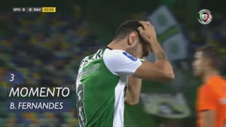 Sporting CP, Jogada, Bruno Fernandes aos 3'