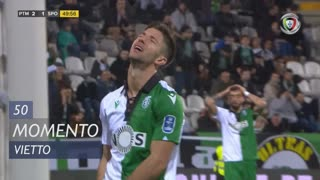 Sporting CP, Jogada, Vietto aos 50'