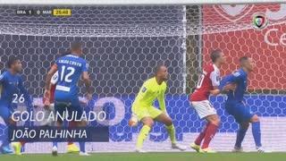 SC Braga, Golo Anulado, João Palhinha aos 26'