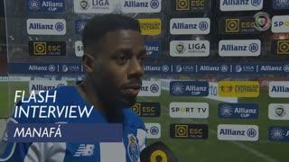 Taça da Liga (Fase de Grupos): Flash Interview Manafá