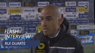Taça da Liga (Fase de Grupos): Flash Interview Rui Duarte