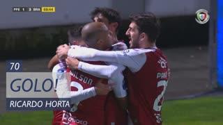 GOLO! SC Braga, Ricardo Horta aos 70', FC P.Ferreira 1-3 SC Braga