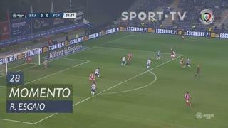SC Braga, Jogada, Ricardo Esgaio aos 28'