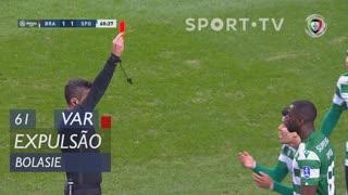 Sporting CP, Expulsão, Bolasie aos 61'