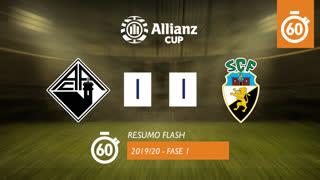 Allianz Cup (1ª Fase): Resumo Flash A. Académica 1-1 SC Farense