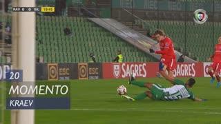 Gil Vicente FC, Jogada, Kraev aos 20'