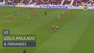 Sporting CP, Golo Anulado, Bruno Fernandes aos 43'