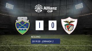 Allianz Cup (Fase 3 - Jornada 2): Resumo GD Chaves 1-0 Santa Clara