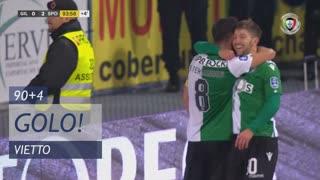 GOLO! Sporting CP, Vietto aos 90'+4', Gil Vicente FC 0-2 Sporting CP