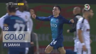 GOLO! FC Porto, R. Saravia aos 50', Casa Pia AC 0-1 FC Porto
