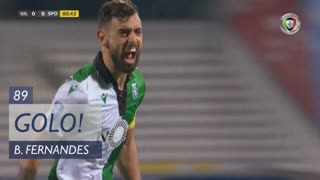 GOLO! Sporting CP, Bruno Fernandes aos 89', Gil Vicente FC 0-1 Sporting CP