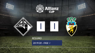 Allianz Cup (1ª Fase): Resumo A. Académica 1-1 SC Farense