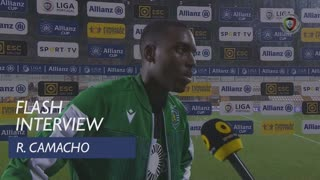 Taça da Liga (Fase de Grupos): Flash Interview Rafael Camacho
