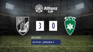 Allianz Cup (Fase 3 - Jornada 3): Resumo Vitória SC 3-0 SC Covilhã