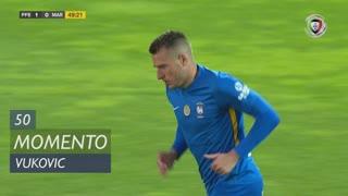Marítimo M., Jogada, Vukovic aos 50'