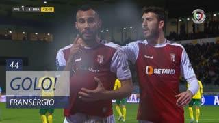 GOLO! SC Braga, Fransérgio aos 44', FC P.Ferreira 1-1 SC Braga