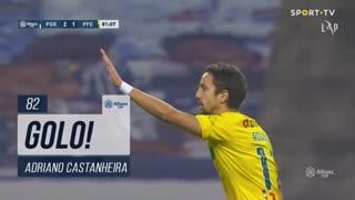 GOLO! FC P.Ferreira, Adriano Castanheira aos 82', FC Porto 2-1 FC P.Ferreira