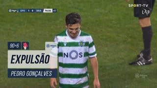 Sporting CP, Expulsão, Pedro Gonçalves aos 90'+6'