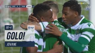 GOLO! Sporting CP, Jovane aos 90'+4', Sporting CP 2-1 FC Porto