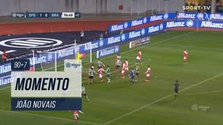 SC Braga, Jogada, João Novais aos 90'+7'