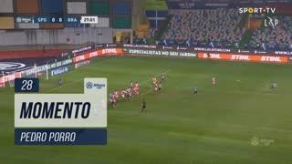 Sporting CP, Jogada, Pedro Porro aos 28'