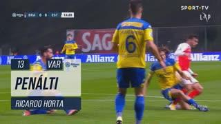 SC Braga, Penálti, Ricardo Horta aos 13'