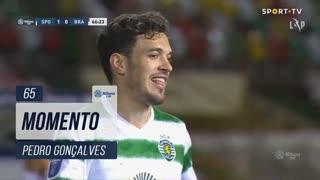Sporting CP, Jogada, Pedro Gonçalves aos 65'