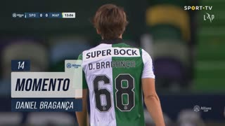 Sporting CP, Jogada, Daniel Bragança aos 13'