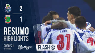 Allianz Cup (Quartos de Final): Resumo Flash FC Porto 2-1 FC P.Ferreira
