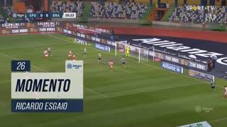 SC Braga, Jogada, Ricardo Esgaio aos 26'
