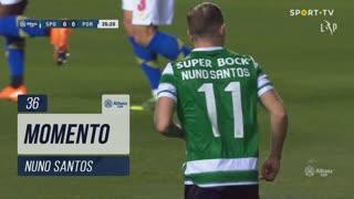 Sporting CP, Jogada, Nuno Santos aos 36'