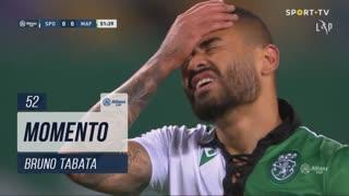 Sporting CP, Jogada, Bruno Tabata aos 52'