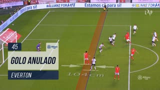 SL Benfica, Golo Anulado, Everton aos 45'