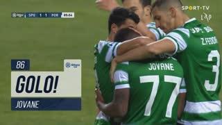 GOLO! Sporting CP, Jovane aos 86', Sporting CP 1-1 FC Porto