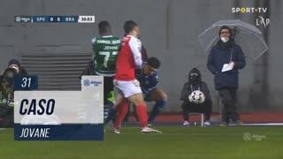 Sporting CP, Caso, Jovane aos 31'