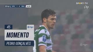 Sporting CP, Jogada, Pedro Gonçalves aos 45'