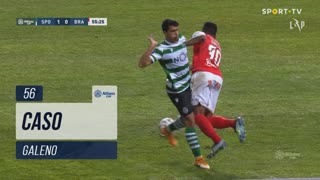 SC Braga, Caso, Galeno aos 56'