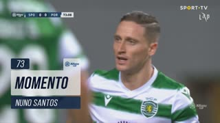 Sporting CP, Jogada, Nuno Santos aos 73'